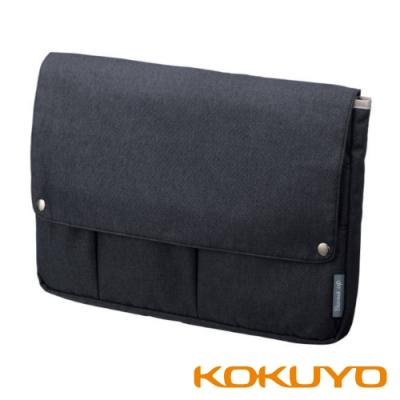 KOKUYO Bizrack up 橫式收納袋中袋(A4) -藏青
