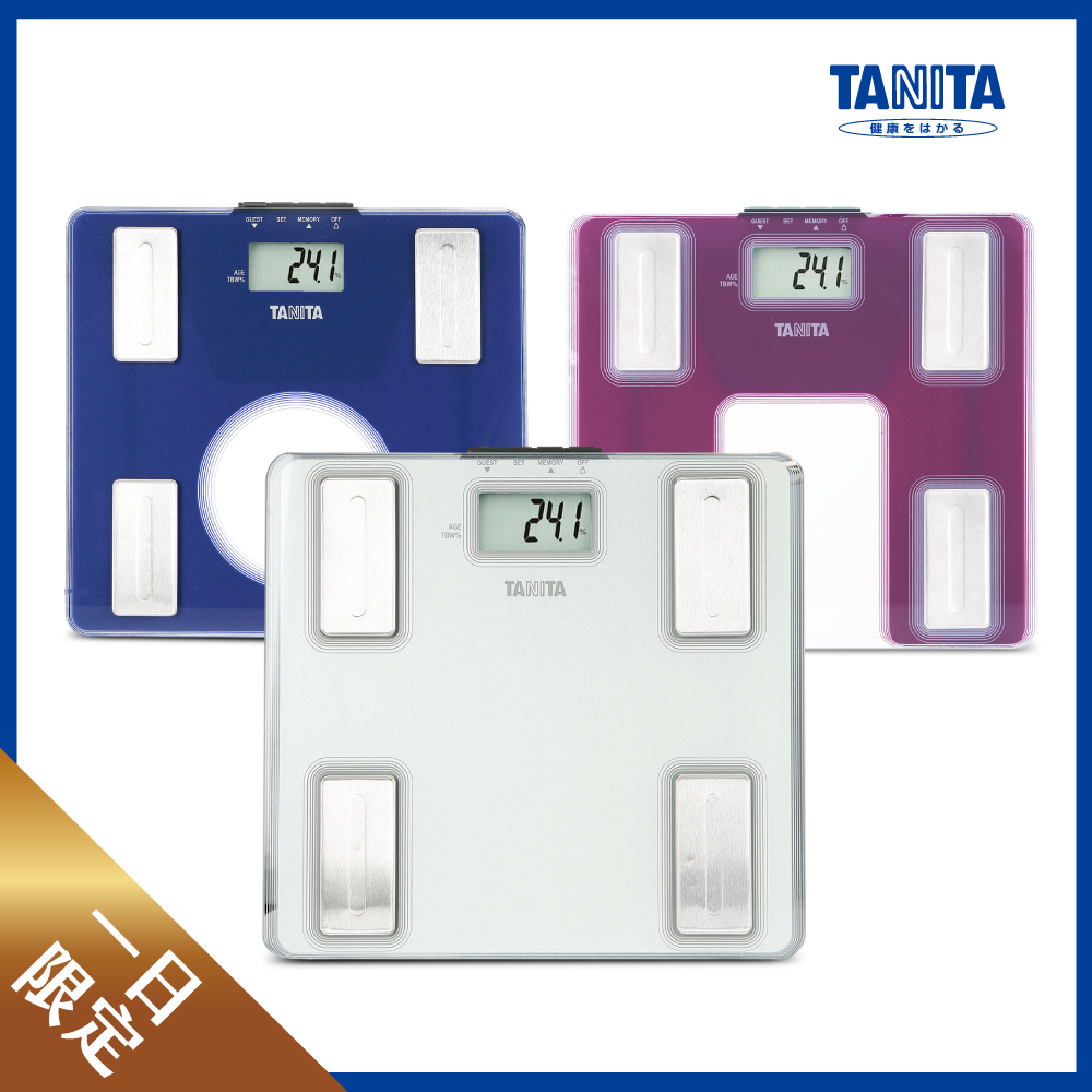 日本 TANITA 超薄強化玻璃體脂計 UM-040 (三色任選)
