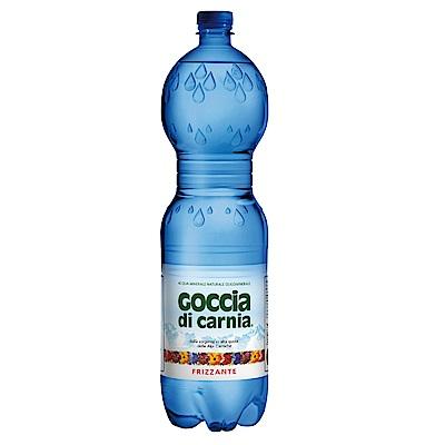 義大利Goccia di Carnia 高地卡尼天然氣泡礦泉水瓶裝(1500mlx12入)