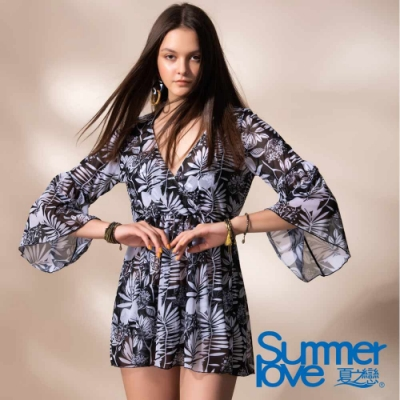 夏之戀SUMMER LOVE 大女比基尼三件式泳衣