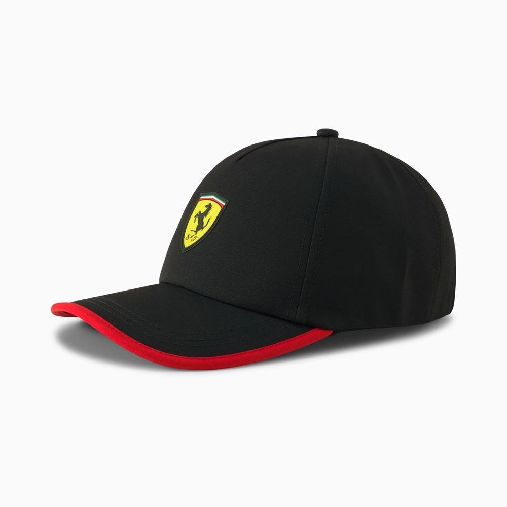 PUMA-男女Ferrari Race系列棒球帽-黑色