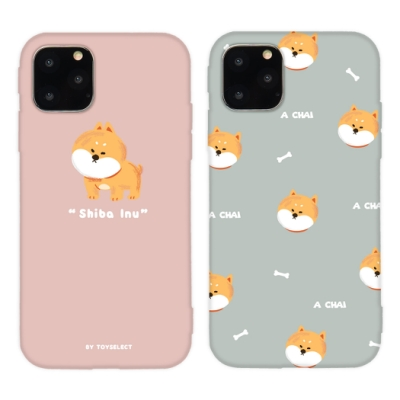 【TOYSELECT】iPhone11ProMax Chubby大頭柴犬系列手機殼