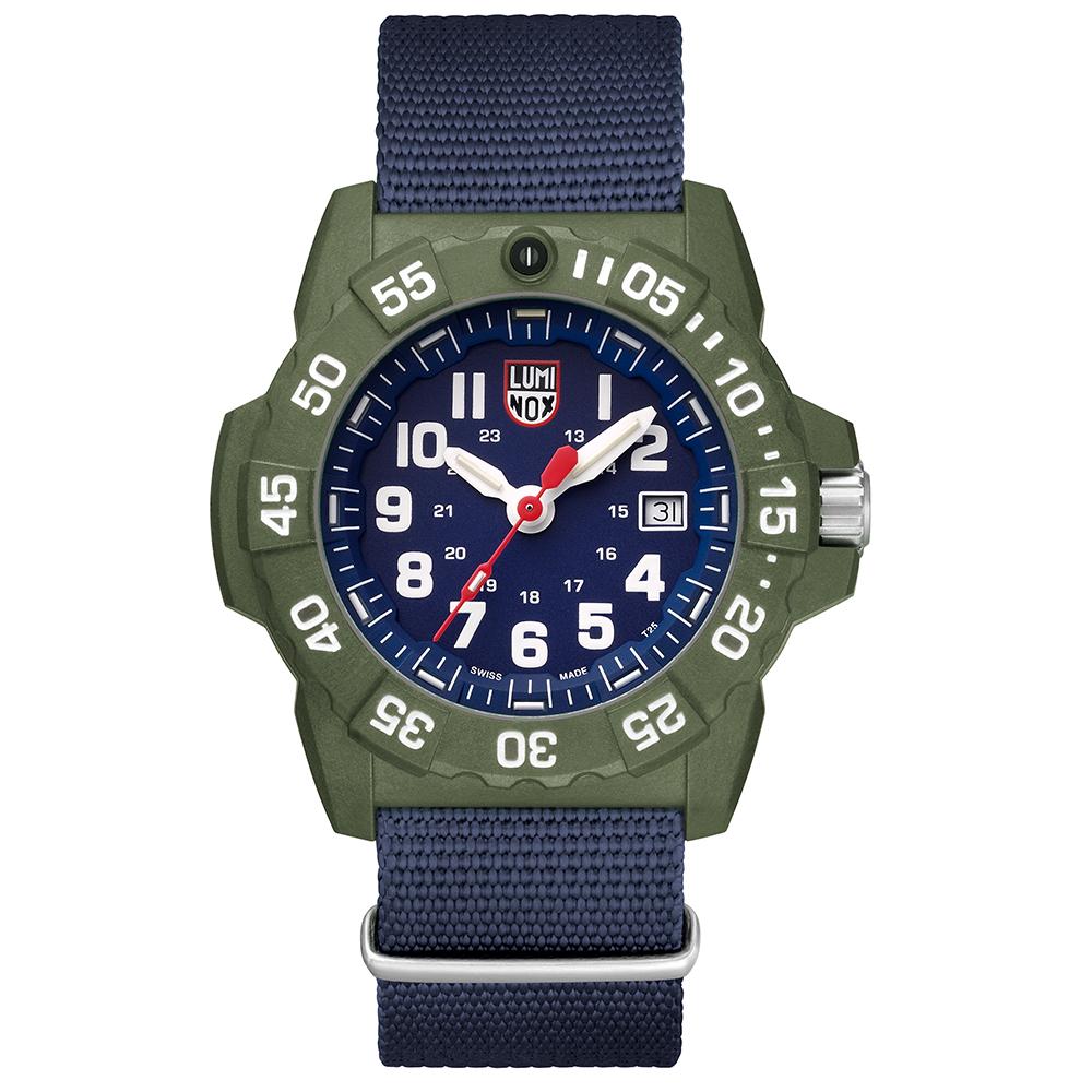 LUMINOX 雷明時NAVY SEAL 海豹2代腕錶 – 藍x白時標/45mm