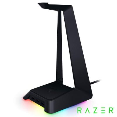 雷蛇Razer Base Station Chroma 幻彩基座-黑 電競耳機架
