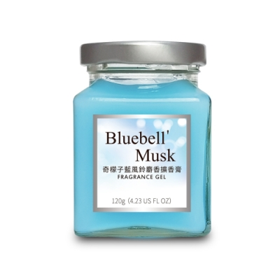 奇檬子 藍風鈴麝香擴香膏8入組