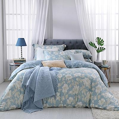 BBL Premium 朦朧花語100%萊賽爾纖維-天絲.印花雙人兩用被四件式床包組