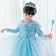 Kori Deer 可莉鹿 冰雪公主長袖蓬裙亮片公主服 女童萬聖節派對變裝禮服造型