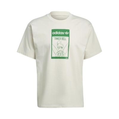 adidas T恤 Original T Tinkerbell 男 愛迪達 三葉草 奇妙仙子 短袖 環保 淺褐 綠 GP3392