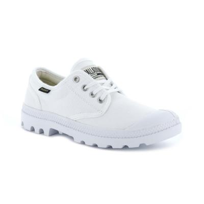 Palladium PAMPA OX 男女休閒鞋 白色