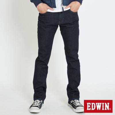 EDWIN 503 基本五袋式 直筒牛仔褲-男-原藍色