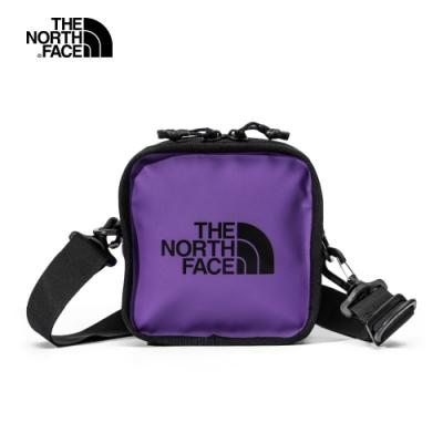 【經典ICON】The North Face北面男女款紫色休閒斜背包 3VWSS96