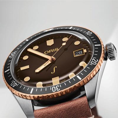 ORIS 豪利時 限量青銅潛水機械錶-42mm