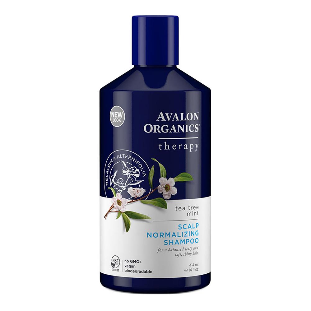 AVALON ORGANICS 茶樹薄荷頭皮調理精油洗髮精(414ml/14oz)