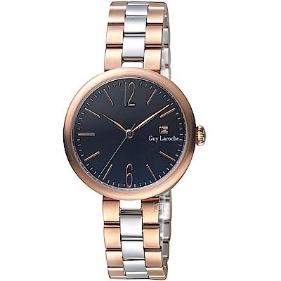 姬龍雪Guy Laroche Timepieces現代簡約時尚女錶(LW5054A-08)