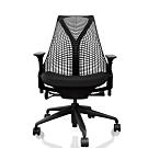 【美國Herman Miller】SAYL全功能人體工學電腦椅(時尚旗艦款)黑背黑椅墊