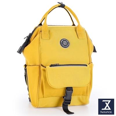 74盎司 Joy 單層插釦造型兒童後背包 (A4可)[K-037-Jo-T]黃