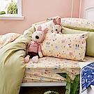 戀家小舖 / 雙人加大床包兩用被組  妮妮公主  100%精梳棉  台灣製