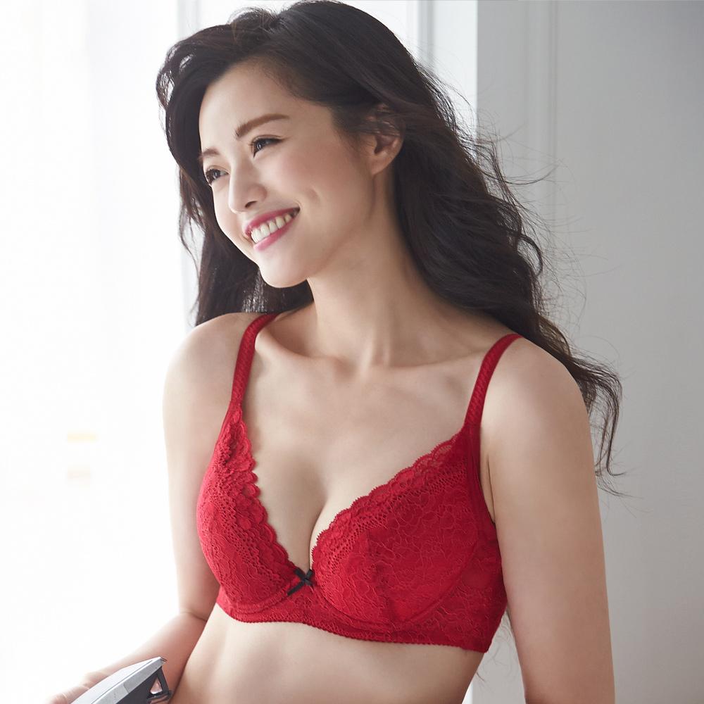 蕾黛絲-順型靠過來 B-E罩杯內衣 美艷紅