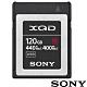 SONY QD-G120F 120G 120GB 440MB/S XQD G系列 高速記憶卡 (公司貨) 支援 4K Z6 Z7 product thumbnail 1