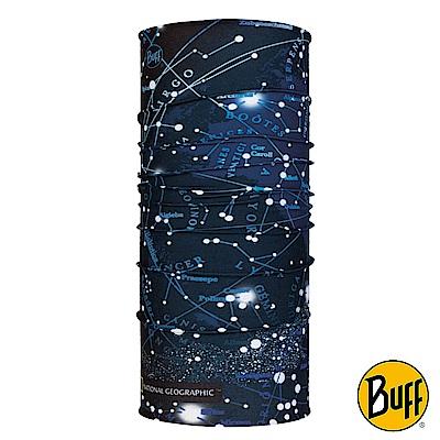 《BUFF》Plus經典頭巾-國家地理-北方星空 BF118372-790