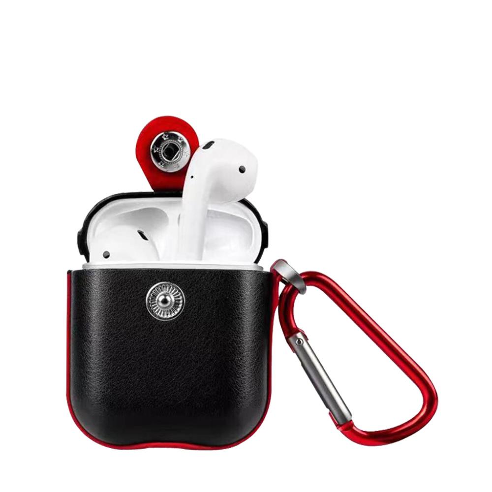 XUNDD for Airpods 巴克耳機保護套 -黑