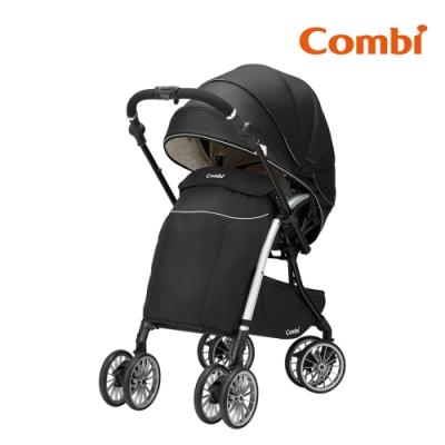 【Combi】Umbretta Puro Premium 嬰兒手推車 尊爵黑