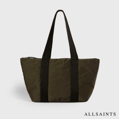 ALLSAINTS SLY 簡約實用雙色輕質兩用手提袋-橄欖綠/黑