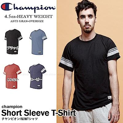 運動品牌CHAMPION BASIC棒球雙線短T 美規AO300 素色