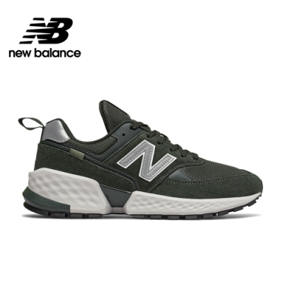 【New Balance】  復古鞋_中性_墨綠_MS574ACM-D楦