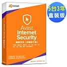Avast 2019 網路安全5台3年盒裝版