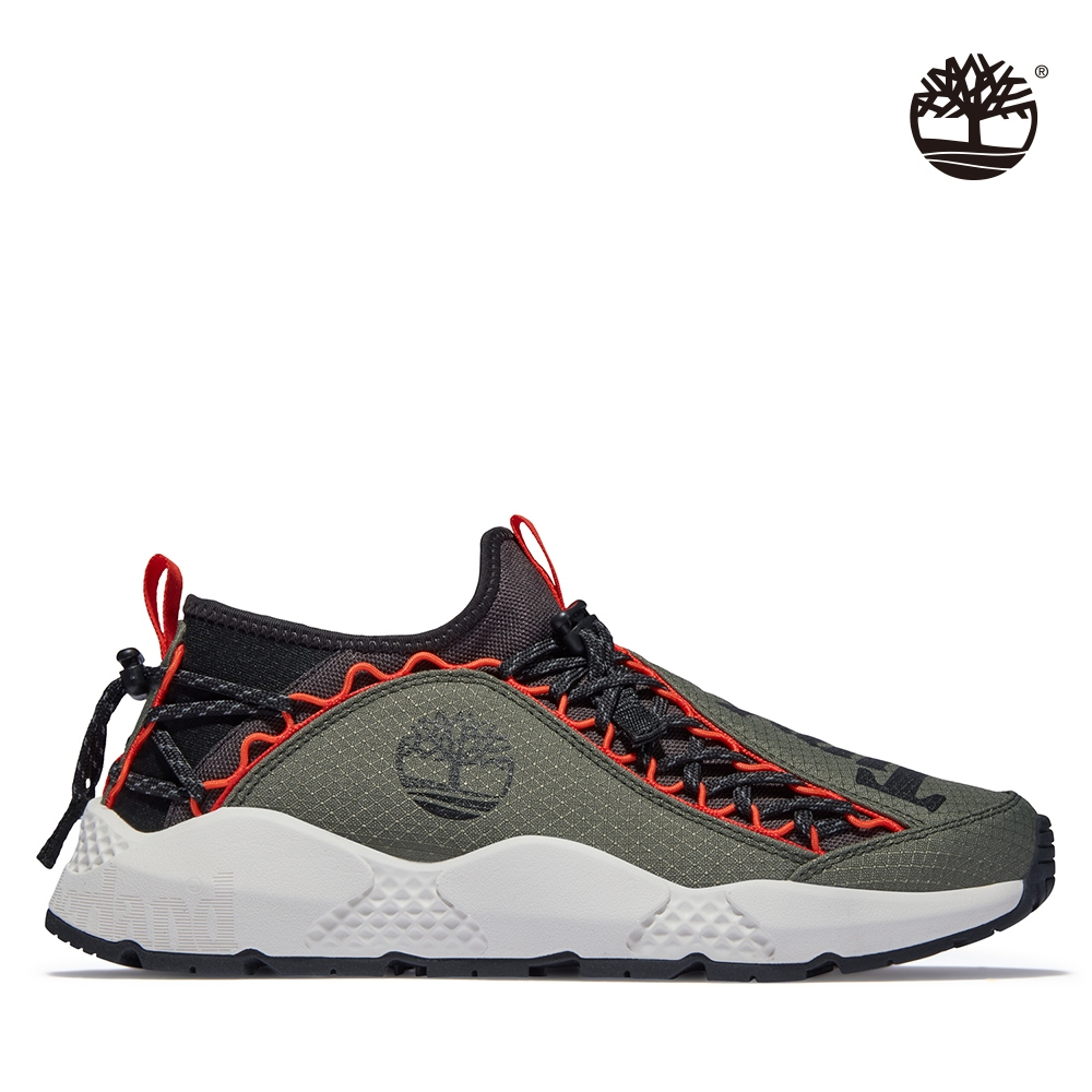 Timberland 男款橄欖色Ripcord織物健行靴|A2KGTA58