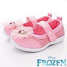 迪士尼童鞋 冰雪蕾絲娃娃鞋款 EI4733粉(中小童段)