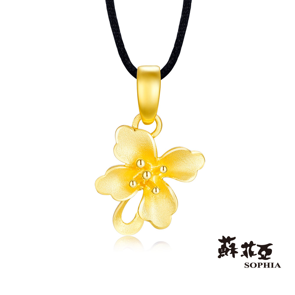 蘇菲亞SOPHIA - G LOVER系列馨情黃金項鍊