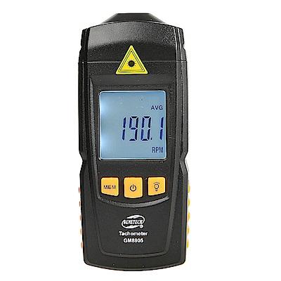 標智 GM8905 數位顯示鐳射轉速表 非接觸式光電轉速計