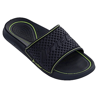 巴西品牌 男 INFINITY LIGHT SLIDE 一字拖鞋-藍綠