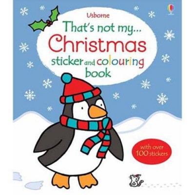 That s Not My Sticker And Colouring Book:Christmas