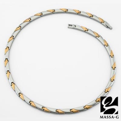 MASSA-G 純鈦系列【金燦風華】純鈦項鍊
