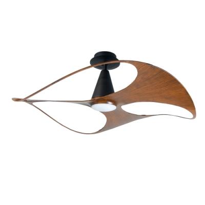 VENTO芬朵 SWISH 48吋燈扇 仿古色本體 胡桃木紋葉片 不含安裝