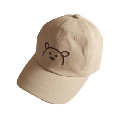 Baby童衣 可愛卡通小熊兒童鴨舌帽 寶寶透氣遮陽 棒球帽 88284