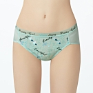 瑪登瑪朵 La Pretti  低腰寬邊三角內褲(月光綠)