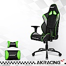 AKRACING-超跑電競椅GT33 Overture-銀x綠