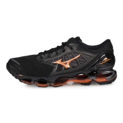MIZUNO 男 慢跑鞋 WAVE PROPHECY 9 黑灰棕