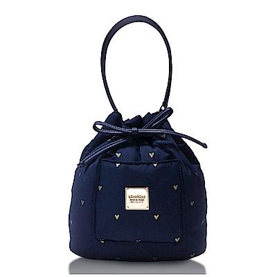 VOVAROVA空氣包-口袋水桶包-心空閃耀(藍)