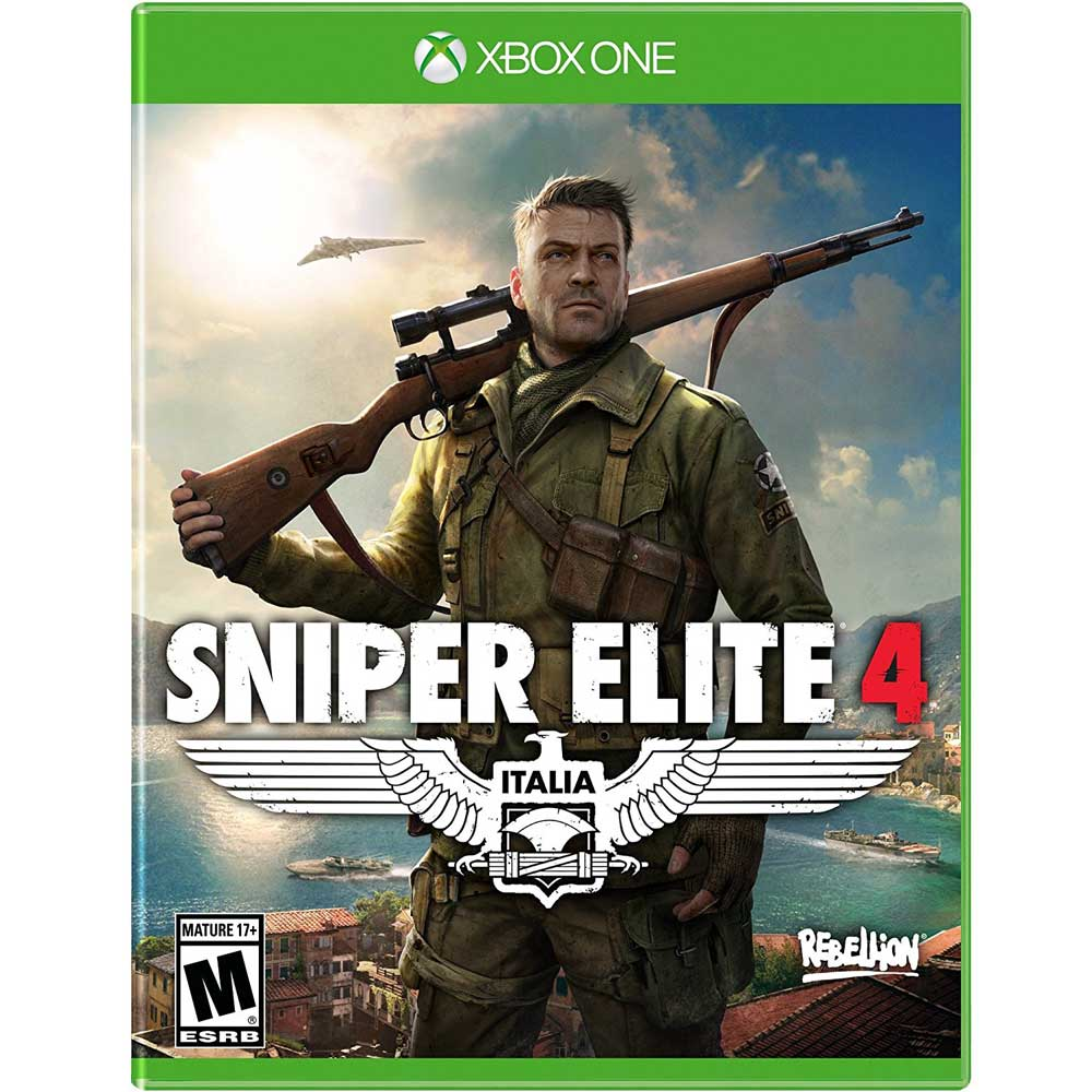 狙擊之神 4 Sniper Elite 4 - XBOX ONE 英文美版