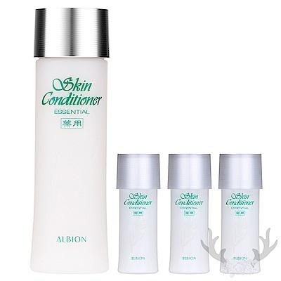*ALBION艾倫比亞 健康化妝水N110ml+27mlx3