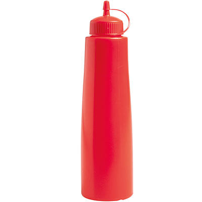 《EXCELSA》擠壓調味罐(紅500ml)