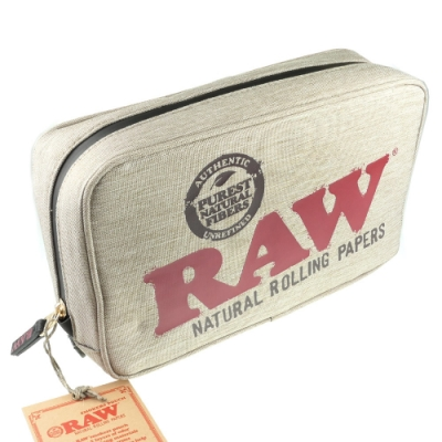 RAW 西班牙進口-Smokers Pouch-防潮防味拉鍊收納包(大款)