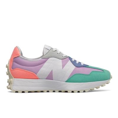 New Balance 327系列  女休閒鞋-繽紛紫-WS327PA-B