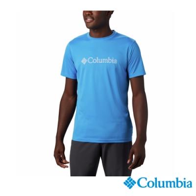 Columbia 哥倫比亞 男款- 涼感快排防曬30短袖排汗衫3色  UAE64630 活動款