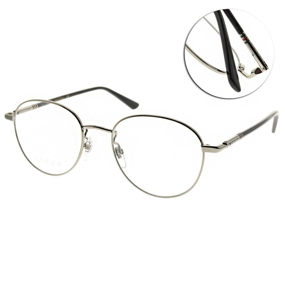 GUCCI 光學眼鏡 圓框款/槍-黑 #GG0392O 001